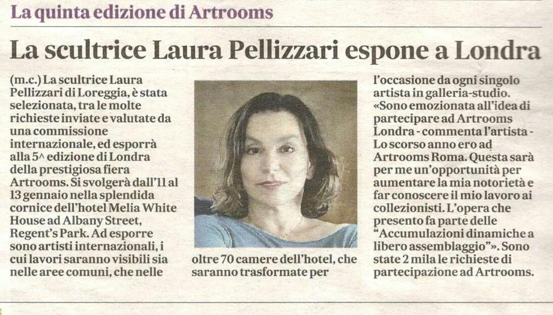 Artrooms Fair London Laura Pellizzari